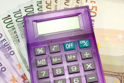 Taschenrechner Geld und